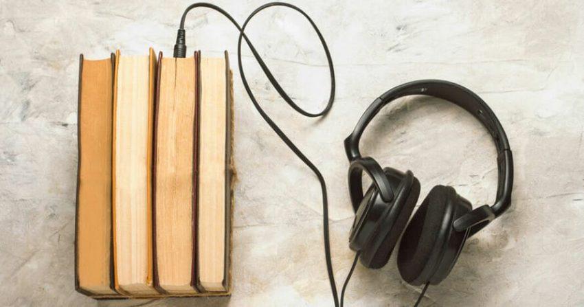 Lyssna på en ljudbok